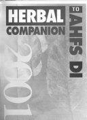 Herbal Companion to AHFS DI