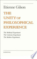 The Unity of Philosophical Experience