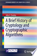 A Brief History Of Cryptology And Cryptographic Algorithms Book PDF