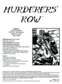 Murderer s Row