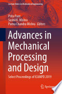Advances in Mechanical Processing and Design