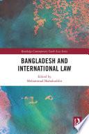 Bangladesh And International Law