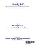 Healthy Self Book PDF