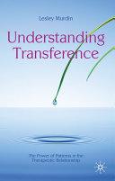 Understanding Transference
