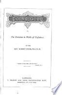Doing Good Book