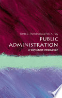 Public Administration  : A Very Short Introduction