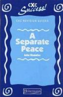 Pdf Separate Peace