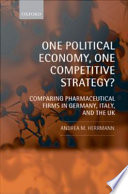 One Political Economy One Competitive Strategy  PDF