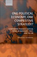 One Political Economy  One Competitive Strategy