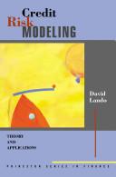 Thumbnail Credit risk modeling