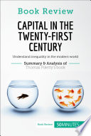 Book Review  Capital in the Twenty First Century by Thomas Piketty