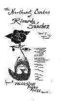 The Northwest Cantos Of Ricardo S Nchez Part I