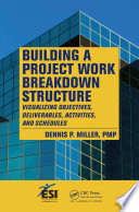 Building a Project Work Breakdown Structure