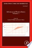 Advances in Photovoltaics