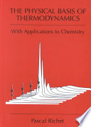 The Physical Basis of Thermodynamics Book