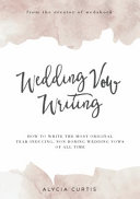 Wedding Vow Writing