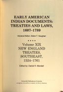 Early American Indian Documents