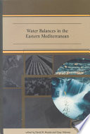 Water Balances in the Eastern Mediterranean
