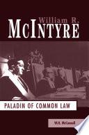 William R. McIntyre