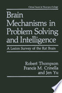 Brain Mechanisms In Problem Solving And Intelligence Book PDF