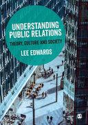 Understanding Public Relations Book