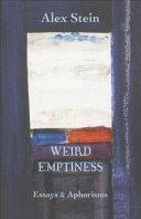 Weird Emptiness