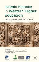 Islamic Finance in Western Higher Education
