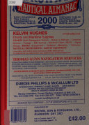 Brown S Nautical Almanac