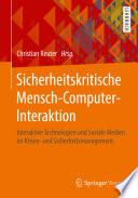 Sicherheitskritische Mensch-Computer-Interaktion
