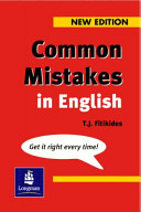 Books - Common Mistakes In English | ISBN 9780582344587
