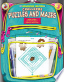 Challenge Puzzles and Mazes  Grade 3 Book