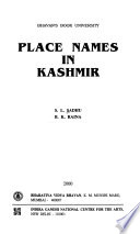 Place Names in Kashmir