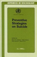 Preventive Strategies on Suicide