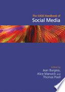 """The SAGE Handbook of Social Media"" by Jean Burgess, Alice Marwick, Thomas Poell"