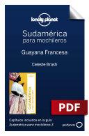 Sudamérica para mochileros 3. Guayana Francesa