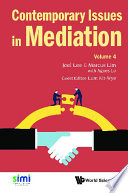 Contemporary Issues In Mediation   Volume 4 Book
