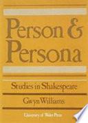 Person and Persona