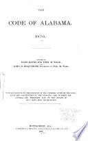 The Code of Alabama  1876