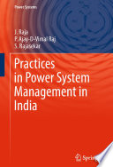Practices In Power System Management In India Book PDF