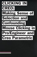 Clicking in Creo