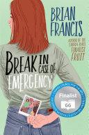 Break in Case of Emergency Pdf/ePub eBook