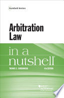 Arbitration Law in a Nutshell