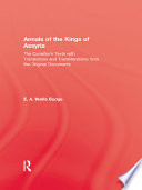 Annals Of The Kings Of Assyria Book PDF