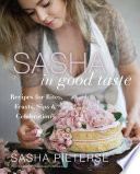 Sasha in Good Taste Book