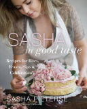 Sasha in Good Taste Book