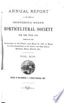 Annual Report of the Minnesota State Horticultural Society