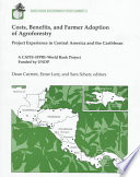 Costs, Benefits, and Farmer Adoption of Agroforestry