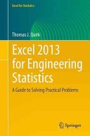 Excel 2013 for Engineering Statistics Book