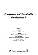 Fifth International Conference on Ecosystems and Sustainable Development