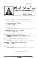 Rhode Island Roots Book PDF